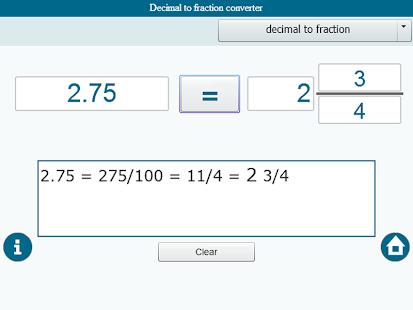 Fraction converter|玩教育App免費|玩APPs