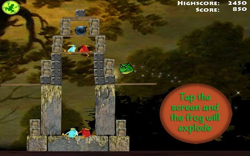Brutal Frogs - Kill the Birds- screenshot thumbnail