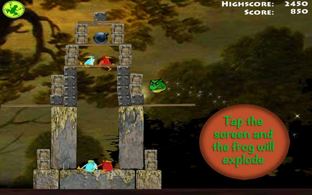 Brutal Frogs - Kill the Birds - screenshot