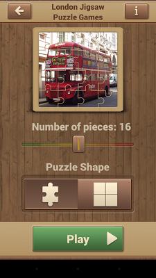 London Jigsaw Puzzle Games - screenshot