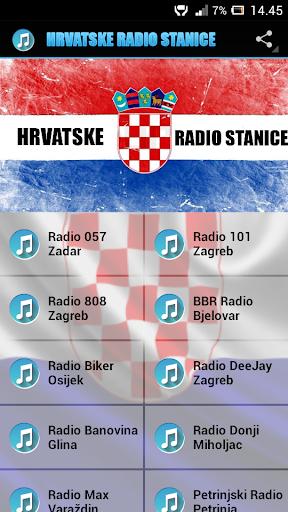 Radio stanice Hrvatske