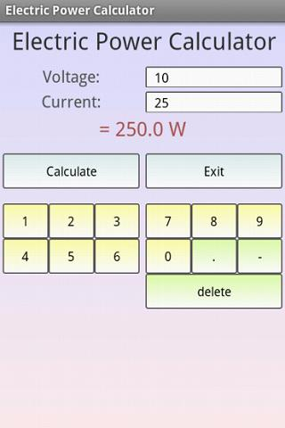Electrical Engineering Pro - screenshot