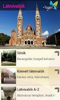 Screenshot of SzegedGuide