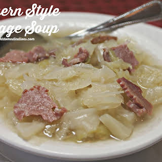 Southern Cabbage Soup Recipes.