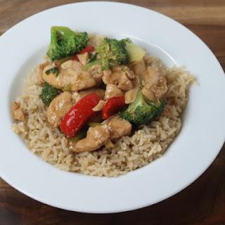 Chicken Teriyaki And Rice.