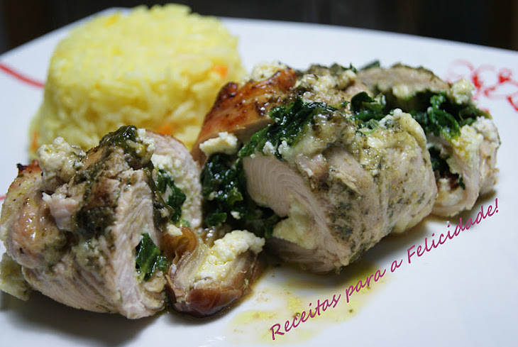 Spinach, Ricotta, and Dates Wrapped in Turkey Cutlets Recipe