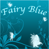 Fairy Blue Go Launcher Ex
