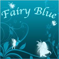 Fairy Blue Go Launcher Ex 1.0