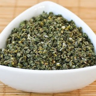 Sage, Rosemary, and Garlic Dried Herb Rub.