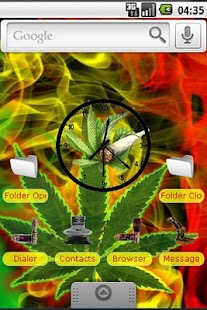 FREE RASTA/ WEED THEME - screenshot thumbnail