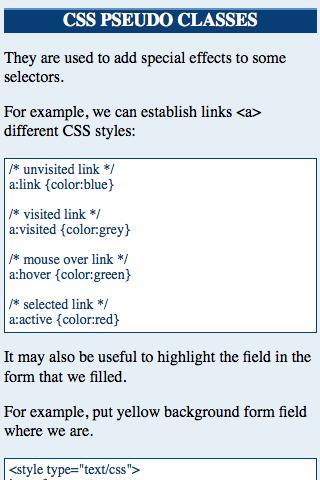 CSS Advanced - screenshot