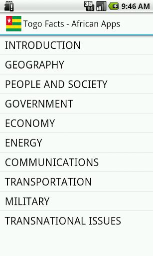 【免費社交App】Togo Facts-APP點子