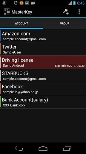 MasterKey -Password Manager-
