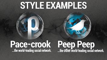 Screenshot of Smoke & Glass Icon Pack