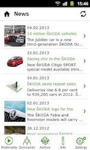 ŠKODA Media Services - screenshot thumbnail