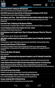 Albuquerque News & Events - screenshot thumbnail