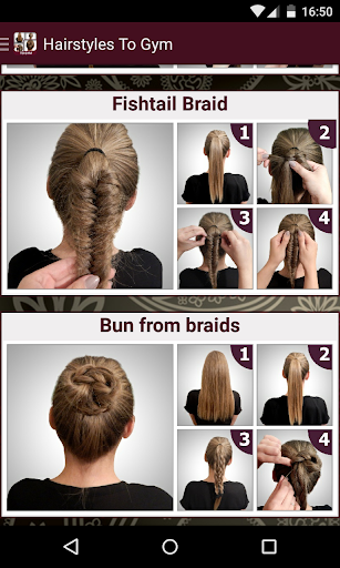 Hairstyles to the Gym tutorial