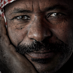 DAY DREAMING  by Angelito Cortez - People Portraits of Men ( face, street, portrait, man, emotion )
