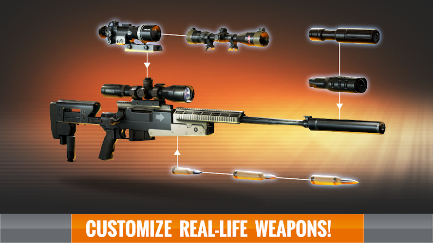 Sniper 3D Assassin v1.7 MOD APK+DATA - screenshot