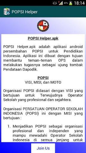POPSIHelper