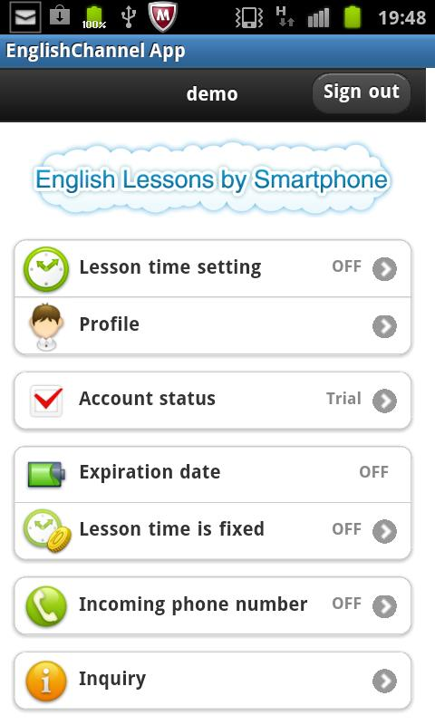 English Lessons by Sp forJ1- screenshot