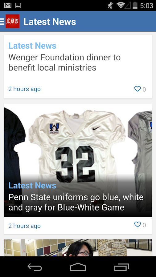 Lebanon Daily News - screenshot