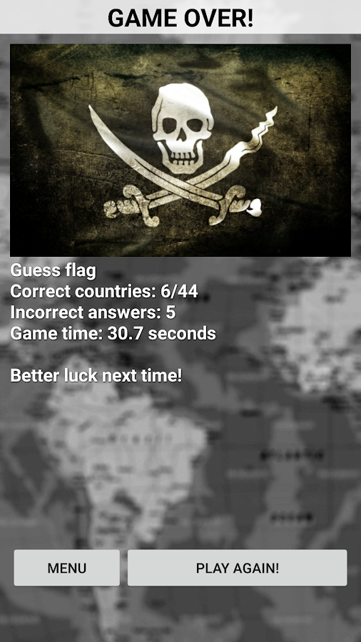 Flag Quiz - screenshot