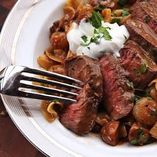 The Utimate Beef Stroganoff.