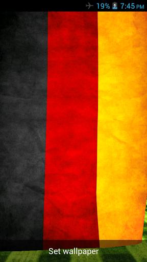 Germany 3D Flag Live Wallpaper