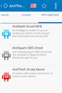 Antitheft Droid SMS - Security- screenshot thumbnail