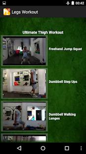 Men's Legs Workout - screenshot thumbnail