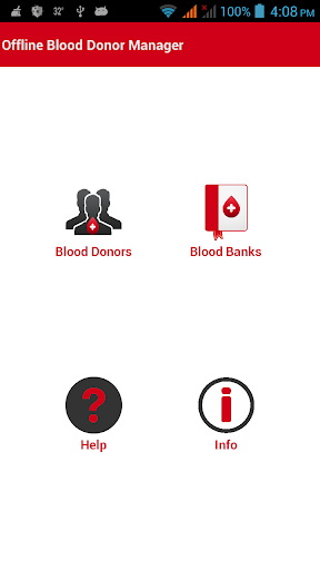 Offline Blood Donor Manager