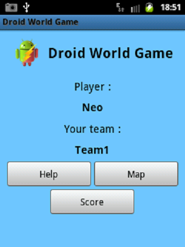 Droid World Game