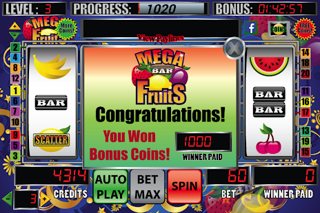 Mega Fruits Slot Machine- screenshot thumbnail