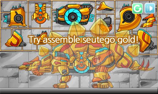 Dino Robot - Stego Gold