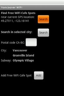Vancouver Free WiFi- screenshot thumbnail