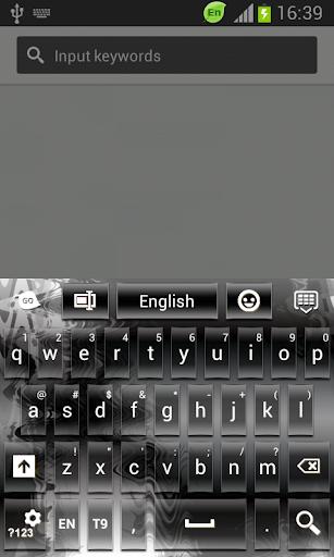 鋼のキーボード