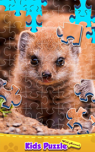 Jigsaw Puzzle - Wild Animals