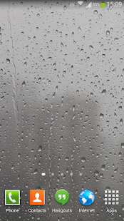 玩個人化App|Raindrops Live Wallpaper HD免費|APP試玩