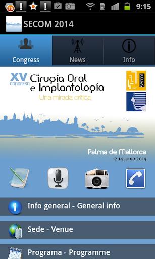 Congreso SECOM 2014
