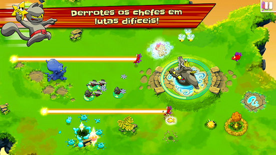 Ninja Hero Cats screenshot