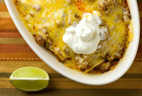 Beef Enchilada Casserole Recipe