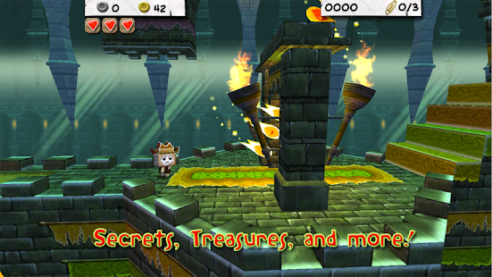 Paper Monsters 3d platformer - screenshot thumbnail