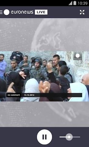 Screenshot 1 euronews LIVE