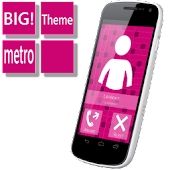 BIG! caller ID Theme MetroPrpl