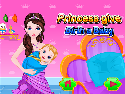 プリンセス出産赤ちゃんのゲーム