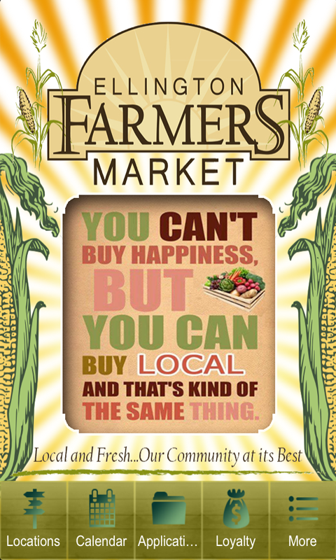Ellington Farmers' Market- screenshot