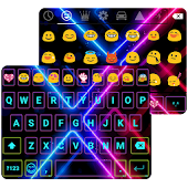 Electric Punk Emoji Keyboard
