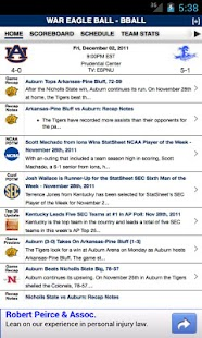 Auburn Football & Basketball - screenshot thumbnail