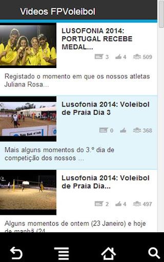 Videos FPVoleibol